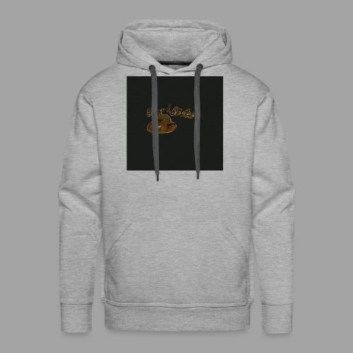 Günni Günter Design Black Background- - Männer Premium Hoodie