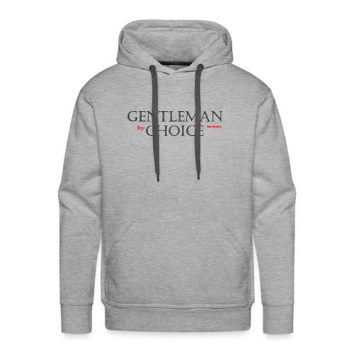 Gentleman By Choice black - Männer Premium Hoodie