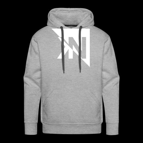 KN Logo halb invertiert - Männer Premium Hoodie