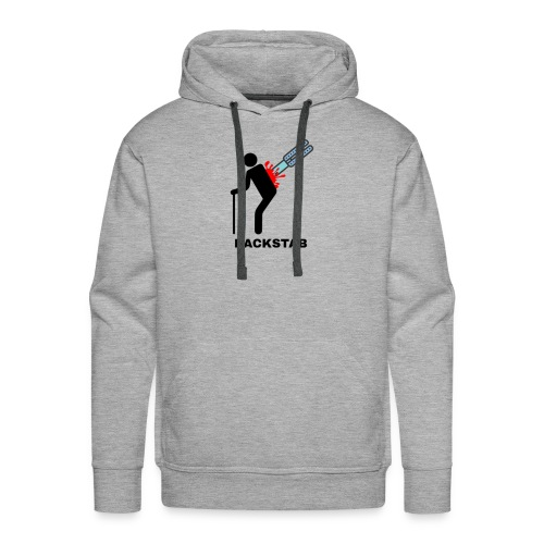 Ateronex/Backstab - Herre Premium hættetrøje