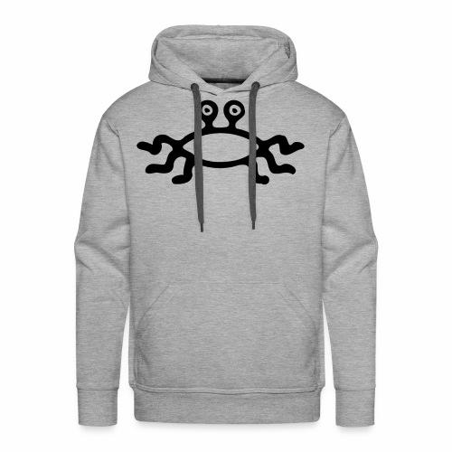 Latający Potwór Spaghetti - symbol LPS - Bluza męska Premium z kapturem