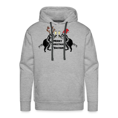 Xmas Raccoons - Men's Premium Hoodie