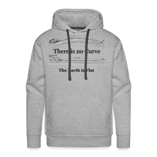 the_Earth_is_Flat- - Männer Premium Hoodie