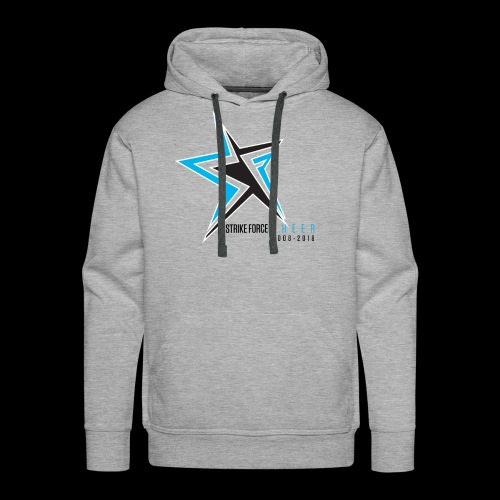 Strike Force 10 YR Logo 02 - Men's Premium Hoodie