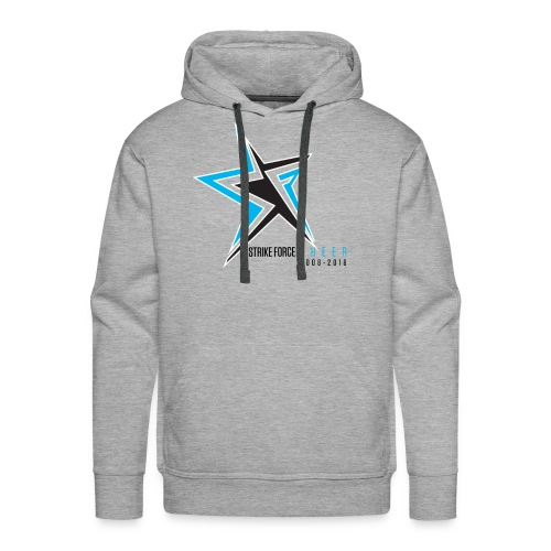 Strike Force 10 YR Logo 02 - Men's Premium Hoodie