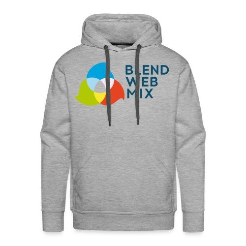 BlendWebMix - Sweat-shirt à capuche Premium pour hommes