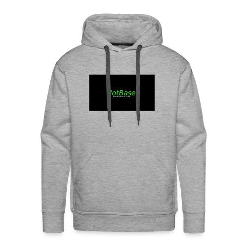 NotBase Männer Hoodie - Männer Premium Hoodie