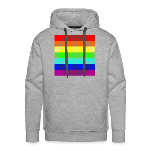 Regenbogen Gay Peace - Männer Premium Hoodie