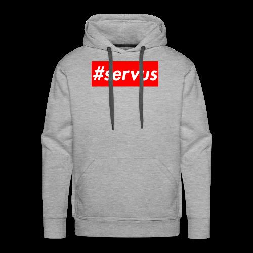 #servus - Männer Premium Hoodie