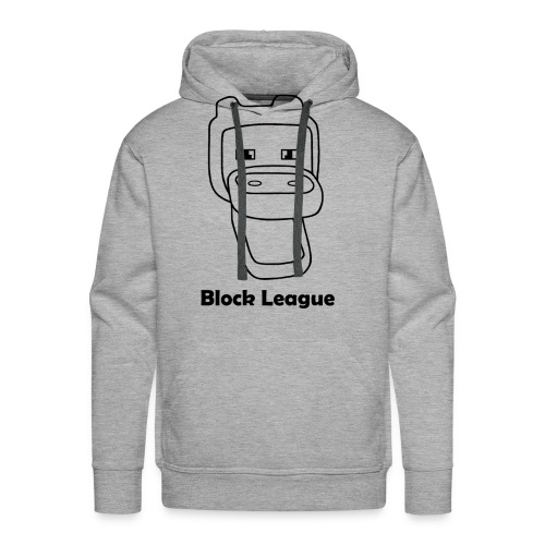 Block League official - Mannen Premium hoodie