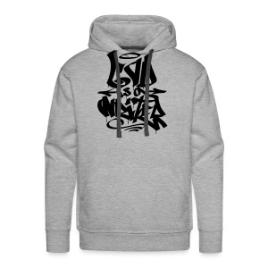 God is a Writer - Men's Premium Hoodie