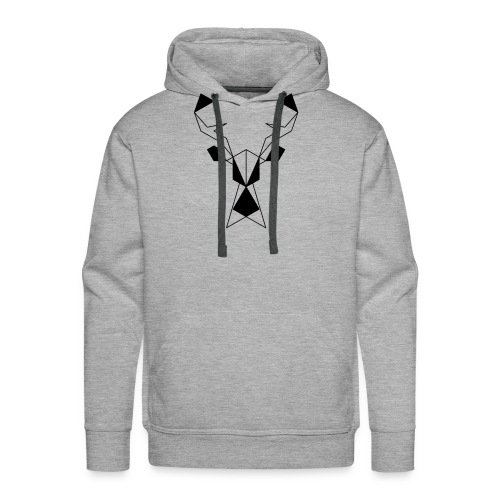 Jeleń #1 - Bluza męska Premium z kapturem