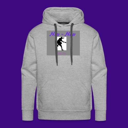 hip hop 2 cre ation - Sweat-shirt à capuche Premium pour hommes