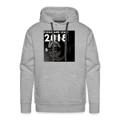 Clean and Lean 2018 - Men's Premium Hoodie