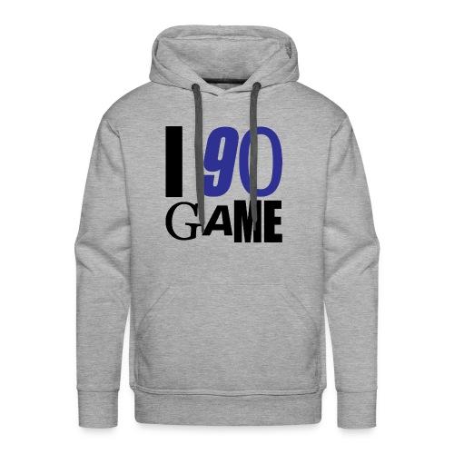 I 90 GAME - Sweat-shirt à capuche Premium pour hommes