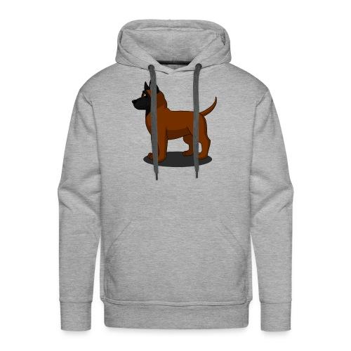 bébé malinois - Sweat-shirt à capuche Premium pour hommes