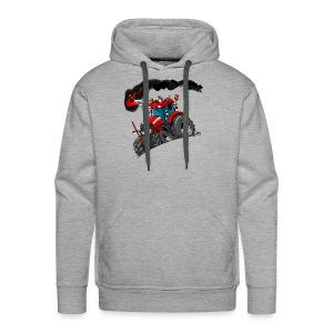RED TRACTOR - Mannen Premium hoodie