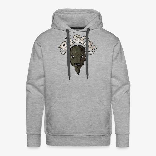 bisonlogo - Men's Premium Hoodie