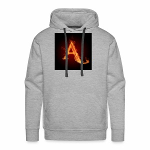 The letter A the letter a 22186960 2560 2560 - Men's Premium Hoodie