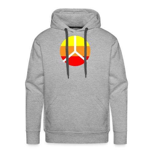 La paix - Sweat-shirt à capuche Premium pour hommes
