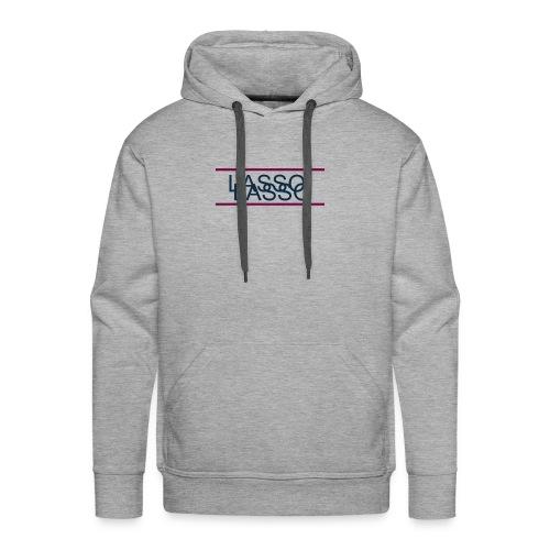 Lasso Logo transparent - Men's Premium Hoodie