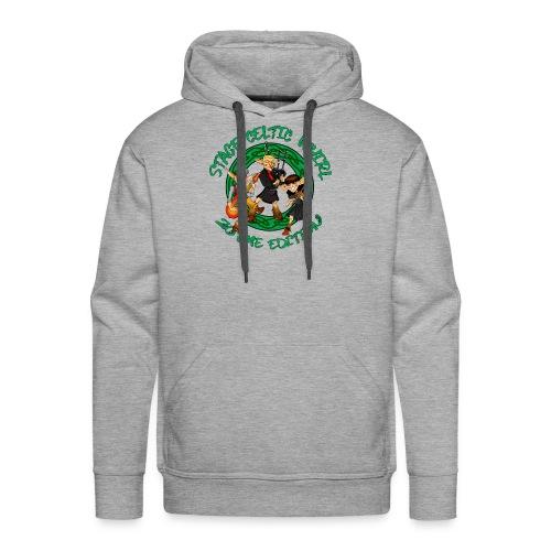 Celtic Whirl Stage - Sweat-shirt à capuche Premium pour hommes