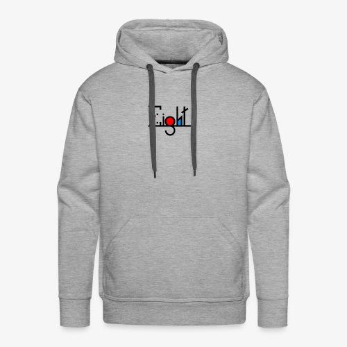 EIGHT LOGO - Sweat-shirt à capuche Premium pour hommes