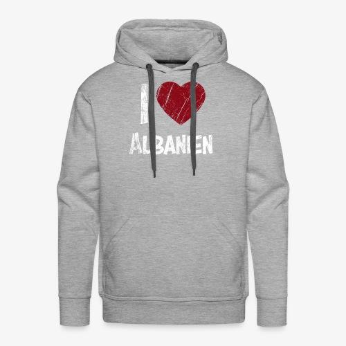 I Love Albanien - Männer Premium Hoodie