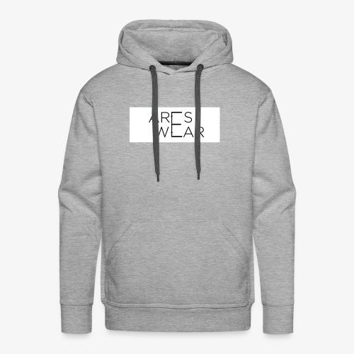 Areswear Logo - Männer Premium Hoodie