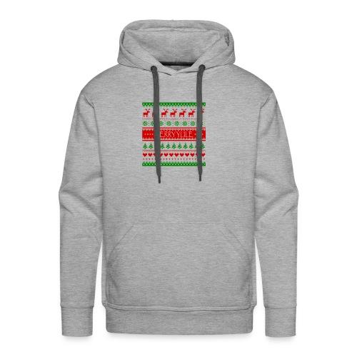 merry yule - Sweat-shirt à capuche Premium pour hommes