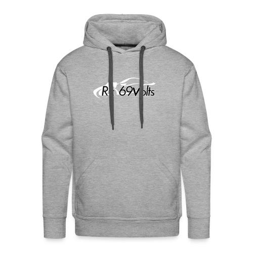 Logotypes rc69volts club de modelisme rc Français. - Sweat-shirt à capuche Premium pour hommes