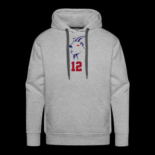 Tom Brady 12 - Männer Premium Hoodie