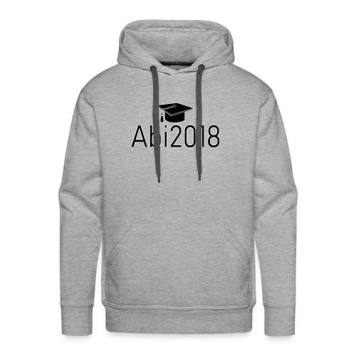 Abi2018 - Abitur2018 - Gymnasium Schulabschluss - Männer Premium Hoodie