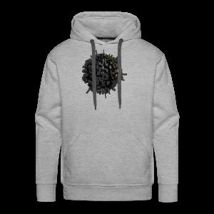 AsteroidCi-T Shirt - Sweat-shirt à capuche Premium pour hommes