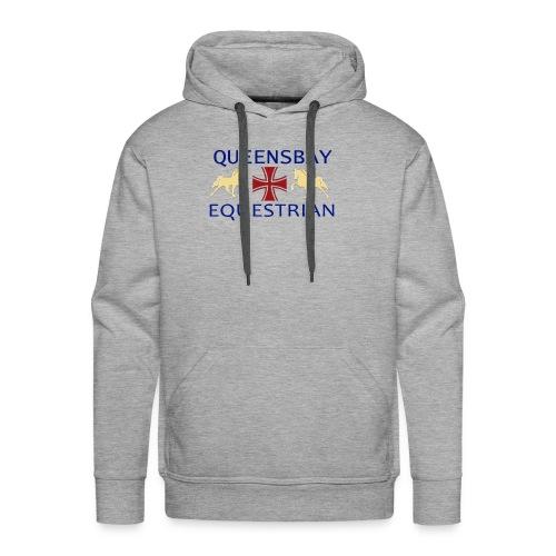 Queensbay Equestrian logo - Mannen Premium hoodie