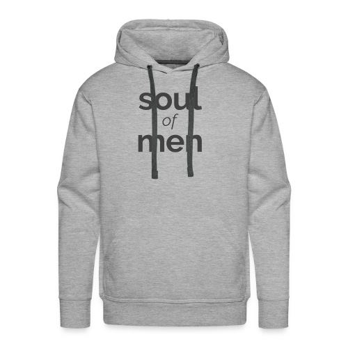 soul of men PODCAST basalt - Männer Premium Hoodie
