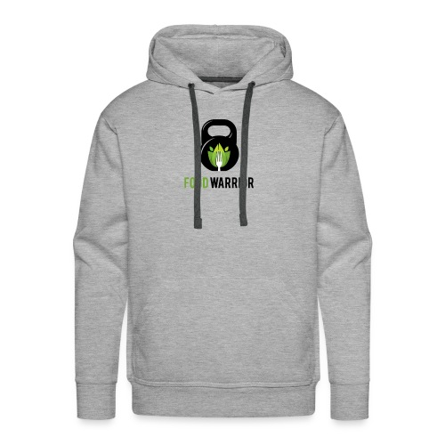 FoodWarrior Official Logo - Sweat-shirt à capuche Premium pour hommes