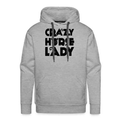 Crazy Horse Lady - Men's Premium Hoodie