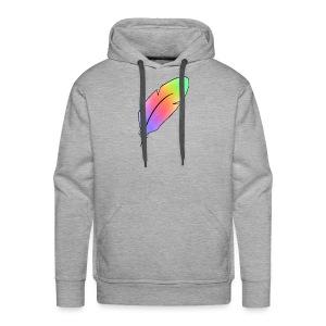 plume - Sweat-shirt à capuche Premium pour hommes