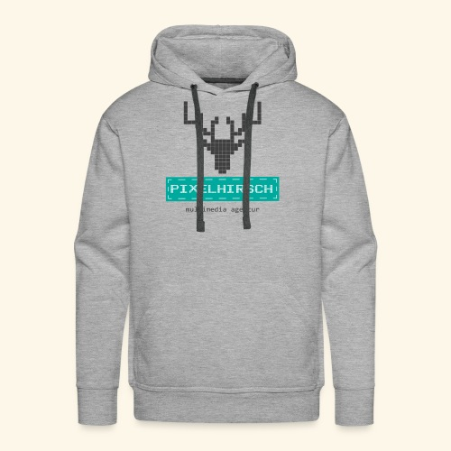 PIXELHIRSCH - Logo - Männer Premium Hoodie