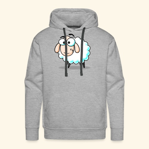 Are you Sheep? - Felpa con cappuccio premium da uomo