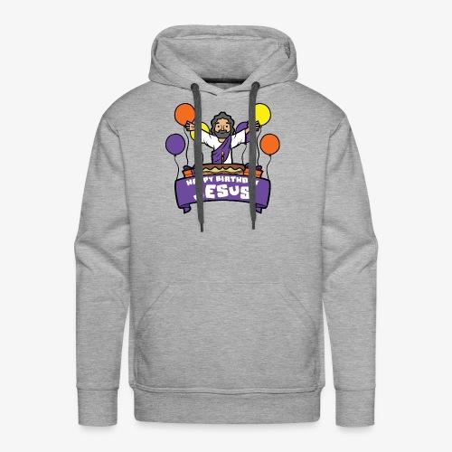 Happy Birthday Jesus - Männer Premium Hoodie