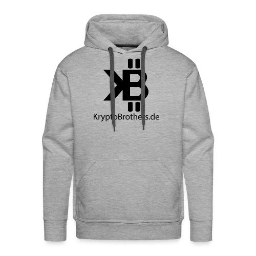 KryptoBrothers Black - Männer Premium Hoodie