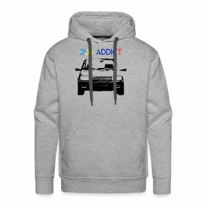 205 ADDICT - Sweat-shirt à capuche Premium pour hommes