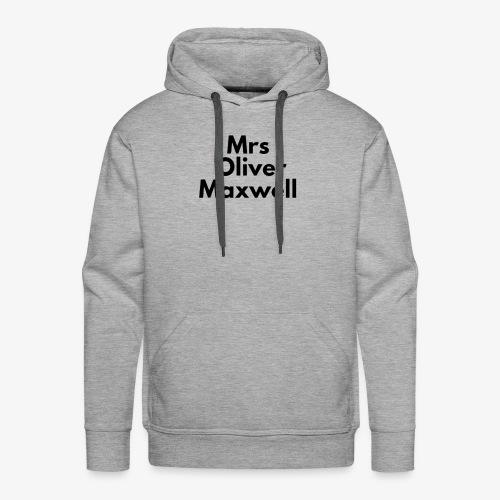 Mrs Oliver Maxwell Large - Men's Premium Hoodie