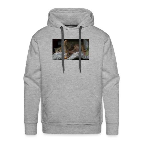 nude - Sweat-shirt à capuche Premium pour hommes