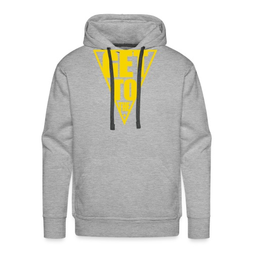 GET TO THE POINT - Men's Premium Hoodie