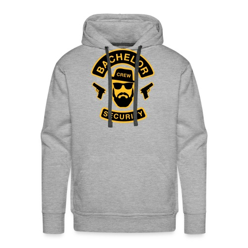 Bachelor Security - JGA T-Shirt - Bräutigam Shirt - Männer Premium Hoodie