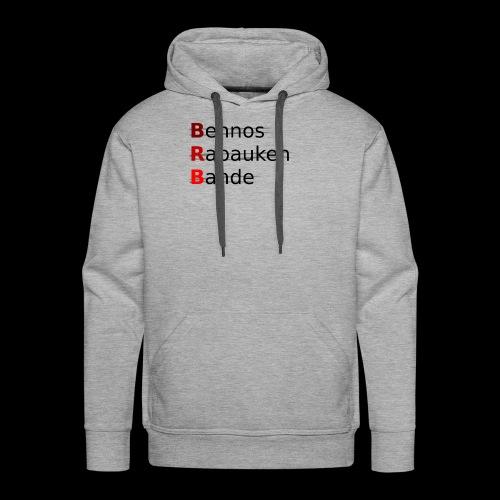 Bennos Rabauken Bande - Männer Premium Hoodie