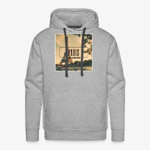 Paris Dreaming - Men's Premium Hoodie